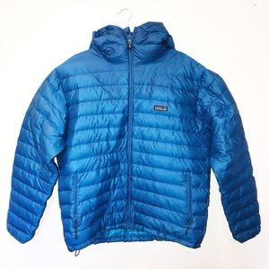 PATAGONIA men's blue puffer jacket size large